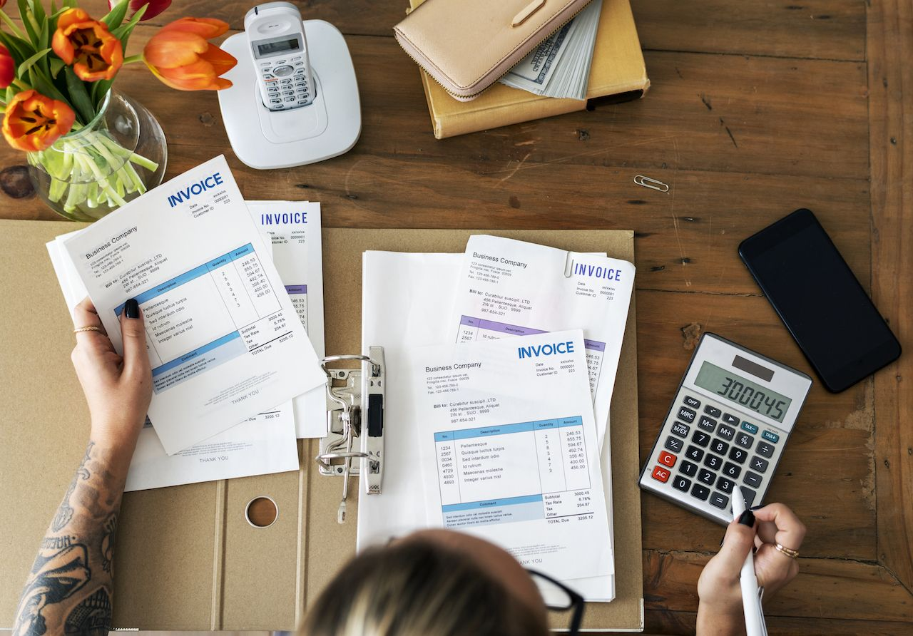 pengelolaan invoice
