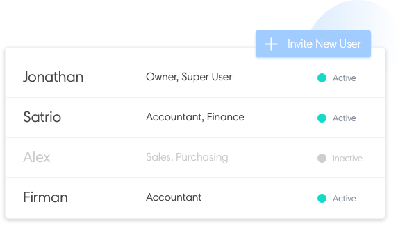 Unlimited user roles