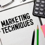 teknik pemasaran