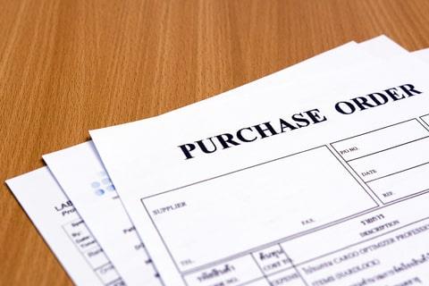 Bagaimana contoh purchase order