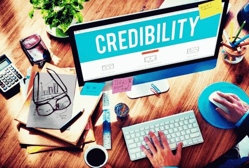 Meningkatkan kredibilitas