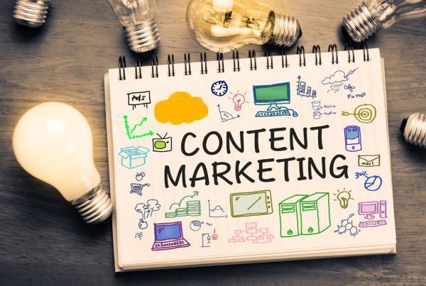 Menggunakan pemasaran konten